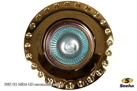 3087/E1 MR16 GD светильник точ.