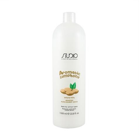 Бальзам для всех типов волос Миндаль 1000 мл. Kapous Studio