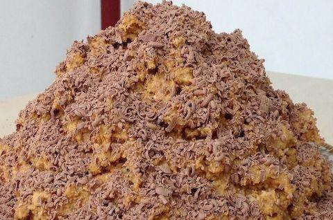 Торт «Муравейник» без глютена