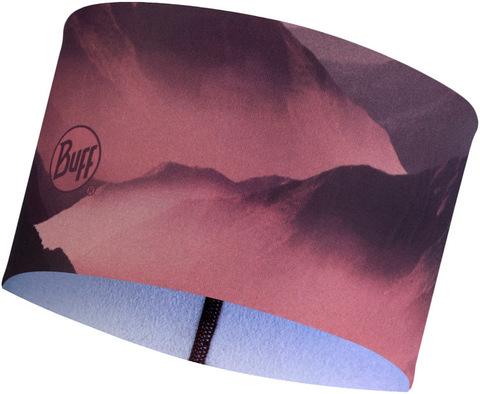 Теплая спортивная повязка на голову Buff Headband Tech Fleece Serra Mauve фото 1