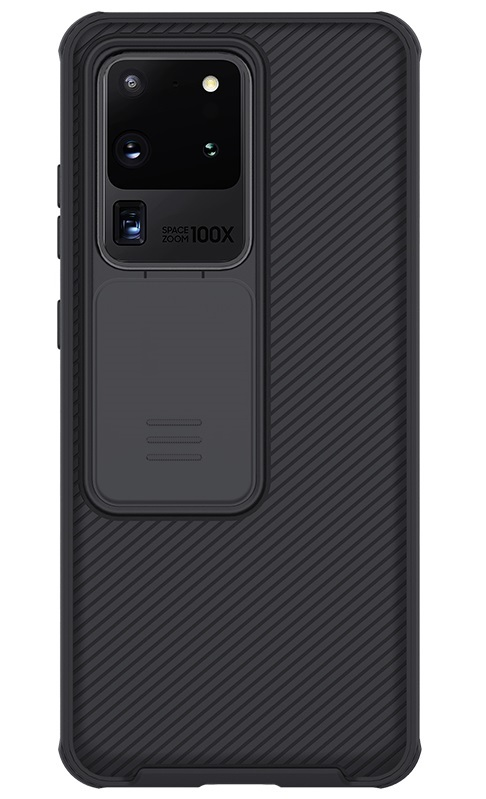 Чехол для Samsung Galaxy S20 Ultra от Nillkin серия CamShield Pro Case с крышкой для защиты камеры