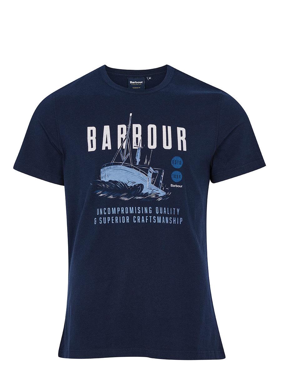 Barbour футболка Storm Tee MTS0818/NY91