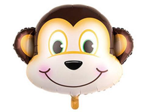 Фольгированный шар Мартышка голова