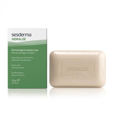 SESDERMA | Мыло твердое дерматологическое / HIDRALOE Dermatological soapless soap, (100 г)