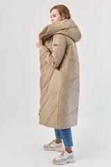 Пальто женское зимнее бежевый