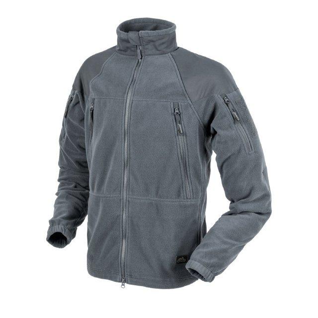 Толстовка Helikon STRATUS Jacket - Heavy Fleece - Shadow Grey