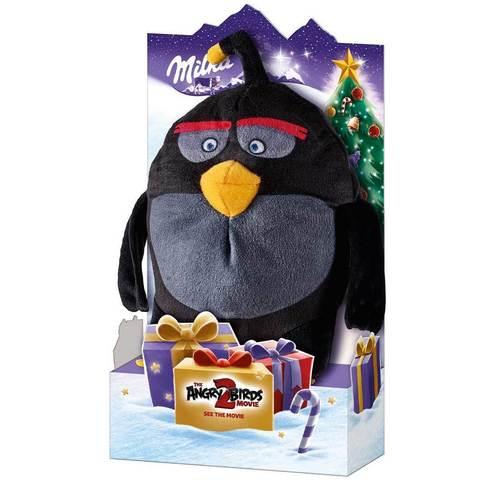 Milka Angry Birds Шоколад+игрушка Black 83 гр