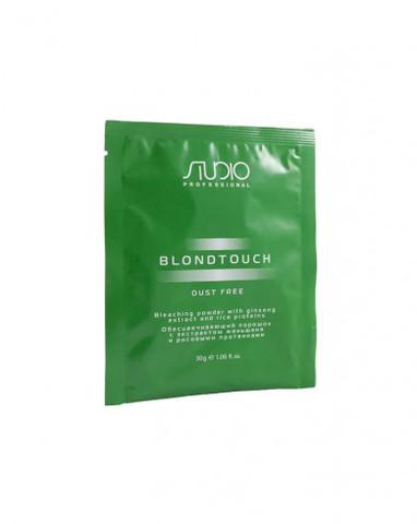 Обесцвечивающий порошок для волос с экстрактом женьшеня и рисовыми протеинами «Dust Free», 30 г