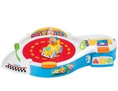 Fisher Price Площадка для веселых гонок щенка с технологией Smart Stages (русифицирована) (DHN81)