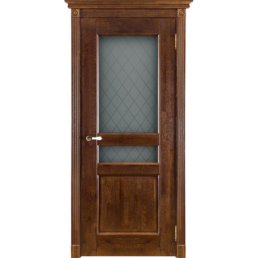 Двери из массива дуба Межкомнатная дверь массив дуба ОКА Виктория античный орех остеклённая viktoria-ant-oreh-do-dvertsov.jpg