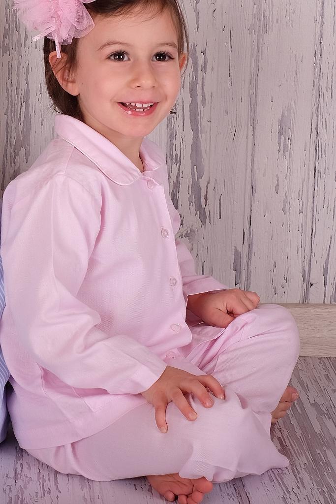 Розовая пижама для девочки BoboSette