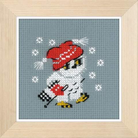 Набор для вышивания крестом «Снежок» (1667)