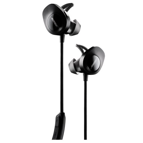 Наушники Bose SoundSport wireless headphones (Black / Черные)