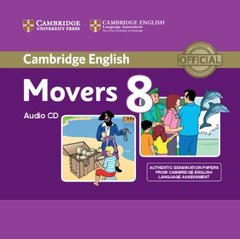C Young Learners Eng Tests 8 Movers Audio CD !!