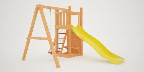 Детская площадка Савушка Мастер-6 с качелями