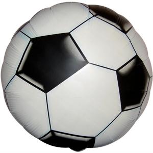 Фольгированный шар Футбольный мяч 18