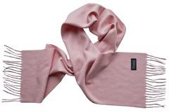 Шерстяной шарф светло-розовый 01501