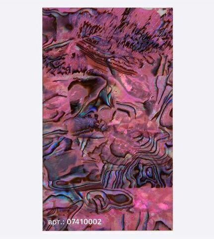 Ракушка раскатанная, розовый 07410002