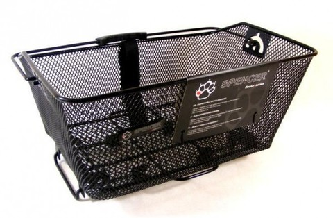 Корзина на багажник SPENCER 40,5*29,5*20,5 съемная
