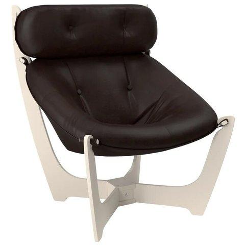 Кресло для отдыха Комфорт Модель 11 дуб шампань/Real Lite DK Brown