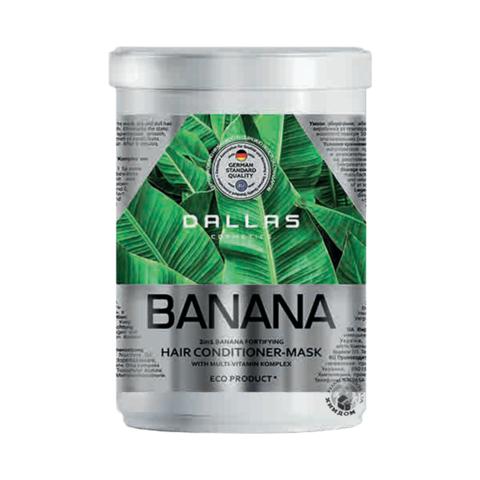 Dallas Крем маска для волос BANANA укрепляющая с Мультивитаминным.комплексом, 500 мл.