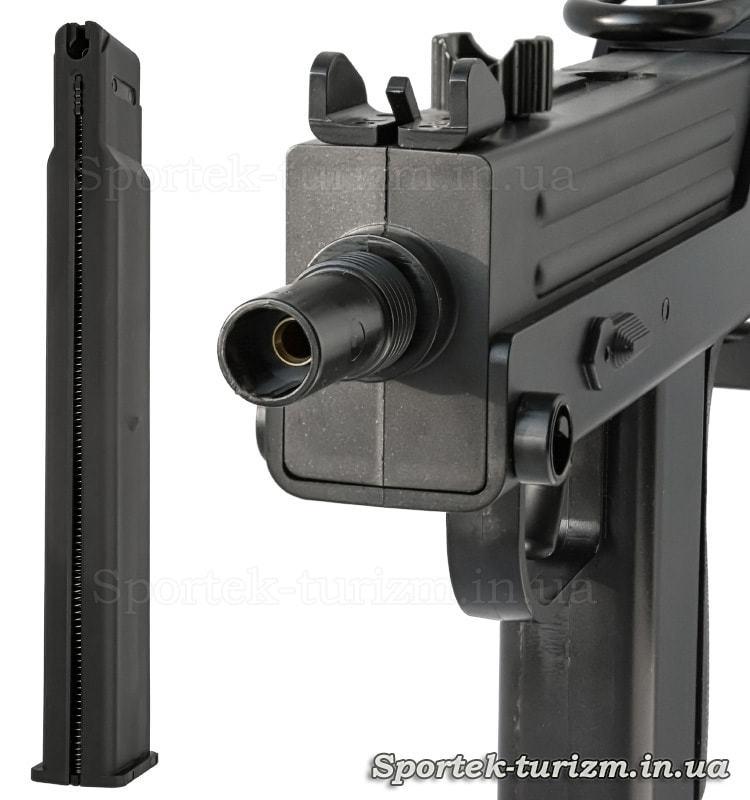 Магазин пневматичного пістолета KWC Mac 11