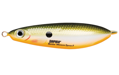 Незацепляйка RAPALA Rattlin' Minnow Spoon 8 см, цвет RFSH