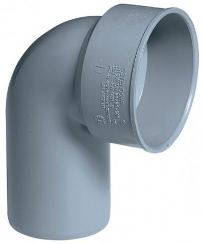 Ostendorf HTSW 50/50 мм отвод сифонный канализационный (112950)