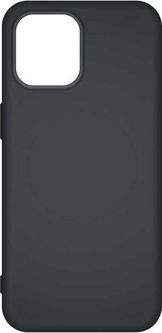 """Силиконовый чехол Mat матовый 1.3 mm для iPhone 12 Mini (5,4"""") (Черный)"""