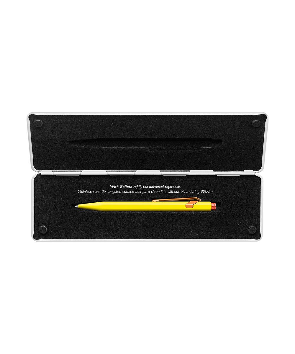 Carandache Office 849 Claim your style 2 - Canary Yellow, шариковая ручка, M, подарочная коробка