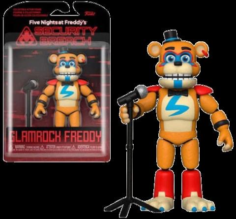 Funko Action Figures: FNAF Security Breach – Glamrock Freddy