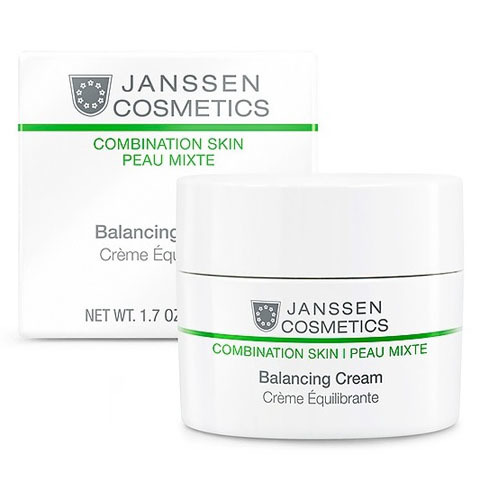 Janssen Combination Skin: Балансирующий крем для смешанной кожи лица (Balancing Cream)