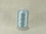 Шелковая нить, толщина 0,38 мм (FF), голубой (1 метр)