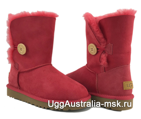 UGG Bailey Button II Red