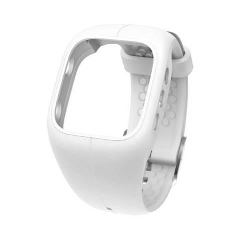 Силиконовый браслет Polar для пульсометра Polar A300, белый