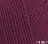 Пряжа LANA LUX 74807 (Вишня)