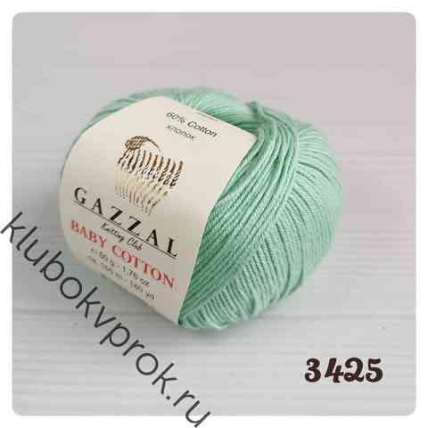 GAZZAL BABY COTTON 3425, Мята