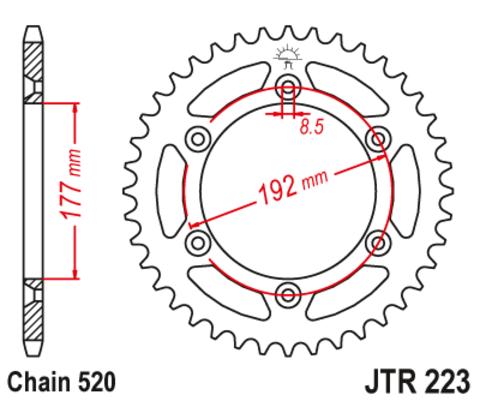 JTR223