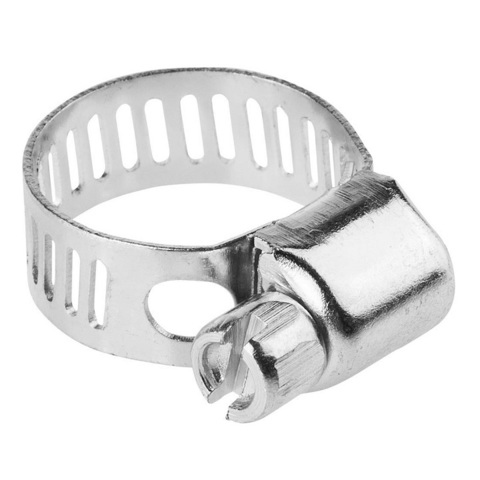 Хомуты стальные оцинкованные, 8-18 мм, 5шт, STAYER