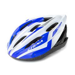 Велошлем Cigna WT-040 (чёрный/фиолетовый/белый)