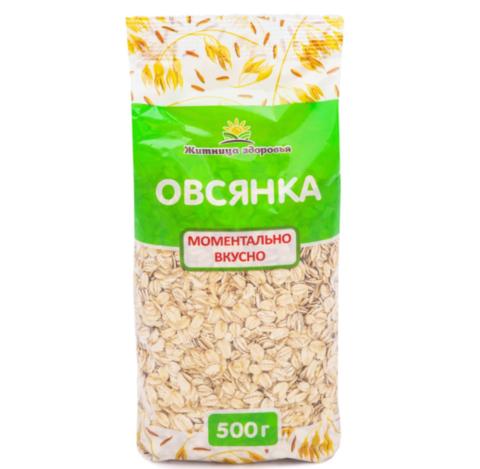 Овсянка, 500 гр.(Житница Здоровья)