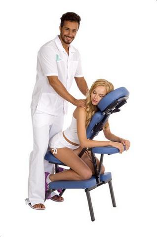 Складной стул для массажа Boston