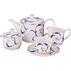 Чайный сервиз на 6 персон из фарфора 264-781