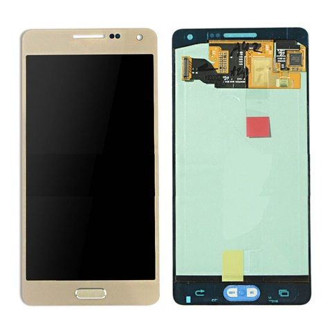 LCD SAMSUNG A5 A500F + Touch Gold Orig MOQ:5