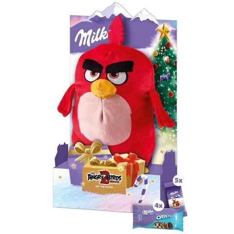 Milka Angry Birds Шоколад+игрушка Red 83 гр