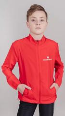 Детская беговая Ветровка Nordski Jr. Motion Red/Red