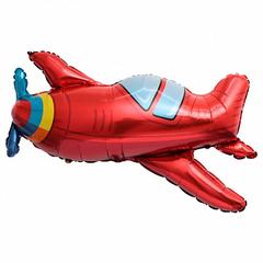 К Фигура, Самолет красный с пропеллером, 37