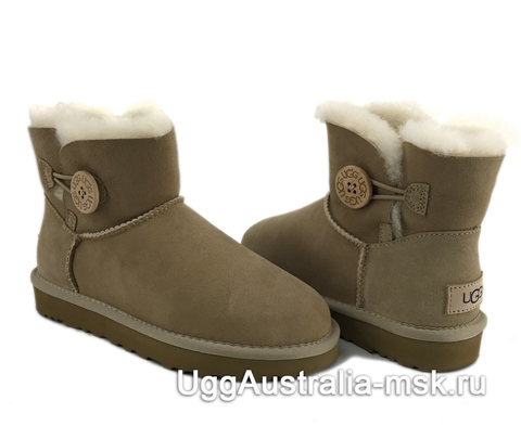 UGG Bailey Button II Mini Sand