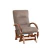 Кресло-глайдер «Мэтисон», ткань ореховый, каркас вишня, GREENTREE