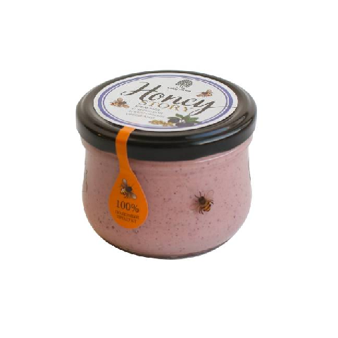 Крем - мед с черникой и кедровым орехом / 220 г